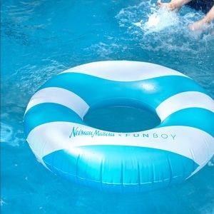 Neiman Marcus Funboy Striped Tube Pool Float